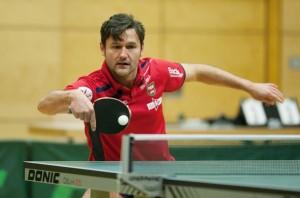 Ernst Fischer holte im Heimspiel gegen den TTC RG Porz beide Einzelpunkte