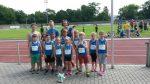 Das erfolgreiche Team mit den Trainern Inga Jahn, Felix Schneider und Babette Schlageter