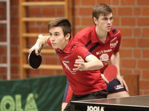 Lennart Dürr und Simon Tiede gaben im Auswärtsspiel bei der DJK BW Münster ihr Oberligadebut