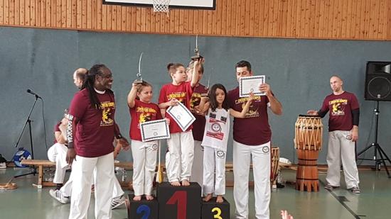 TGO erfolgreich bei europäischem Capoeira Wettkampf in Frankfurt