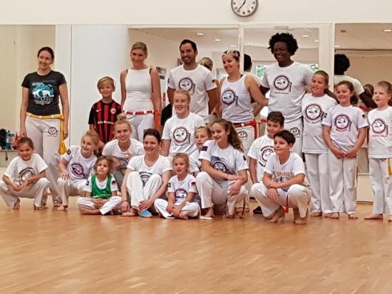 Volle Power in der Capoeira Abteilung!