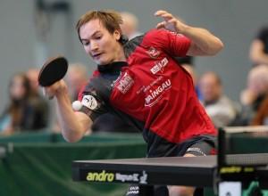 Gregor Surnin gewann bei den hessischen Einzelmeisterschafte den Titel in Herrern-A-Doppel