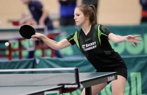 Lotta Rosemann aus der 2. Damenmannschaft der TG Obertshausen spielte eine erfolgreiche Hessenmeisterschaft