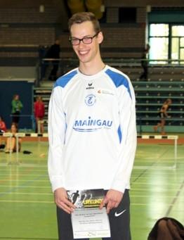 Constantin Schmidt ist Sportler des Jahres
