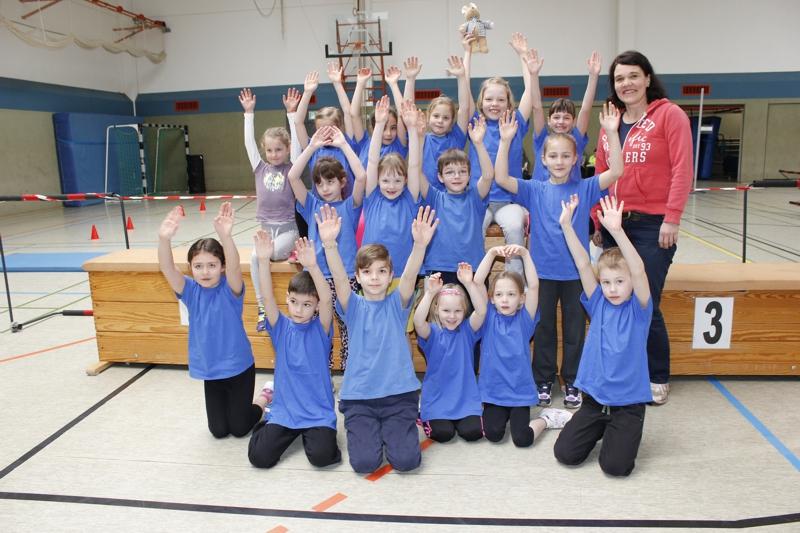 """Leichtathletik-Kids – Sieg bei """"Fun Athletics"""""""