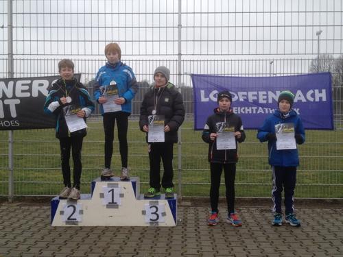 Bronze für Juri Weirich im Crosslauf