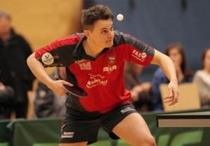 Andrija Dragicevic holte gegen den den TTC Nieder-Roden den entscheidenden Punkt zur Meisterschaft in der Oberliga Hessen.