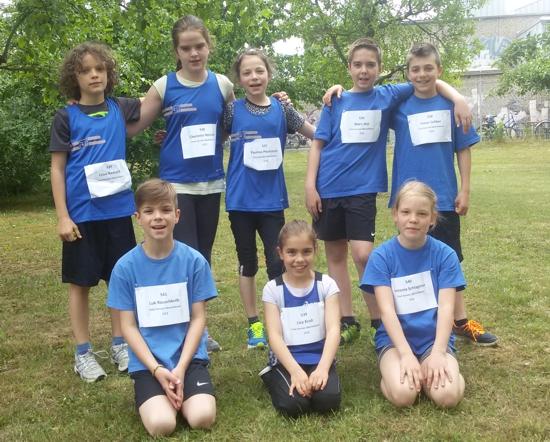 Kinderleichtathletik-Team-Wettbewerb