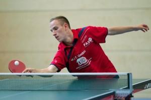 Amadeus Rosemann holte zwei Einzelpunkte und siegte zudem mit Andrija Dragicevic im Doppel