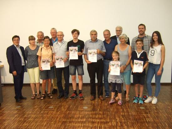 Turngemeinde Obertshausen zwei Mal auf Platz 1