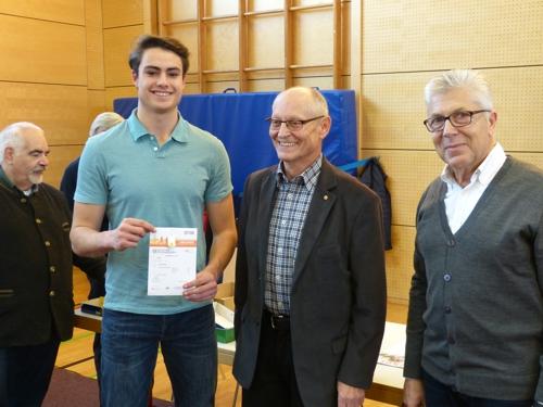 Sportabzeichen-Verleihung 2016