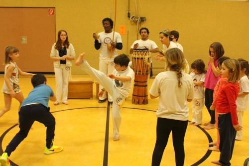 Monatsroda der Capoeira-Abteilung