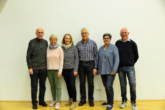 Mitgliederversammlung 2017: Vorstand bestätigt