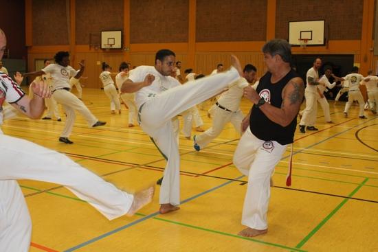 Capoeira: Workshop und Willkommensroda