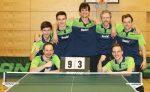 Tischtennis-Herren erringen Meisterschaft in der Oberliga