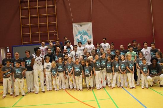 Batzidao und Troca de Corda für Capoeirista-Kinder
