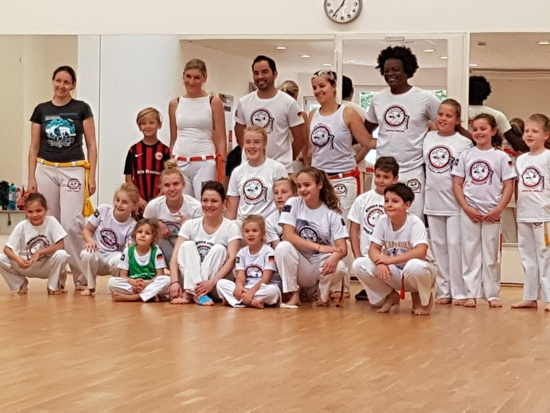 Volle Power in der Capoeira Abteilung!