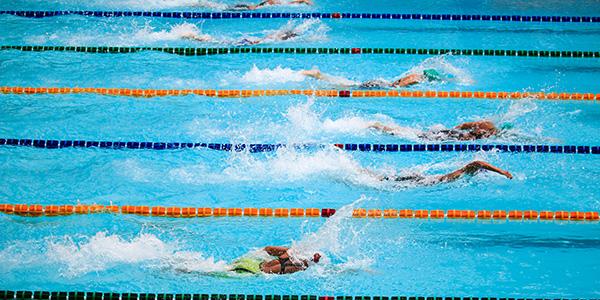 """Wieder """"Schwimmen"""" im Monte Mare"""