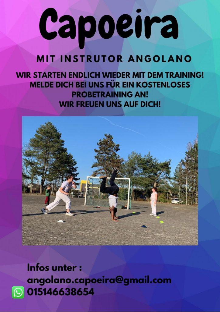 Capoeira-Training startet wieder!